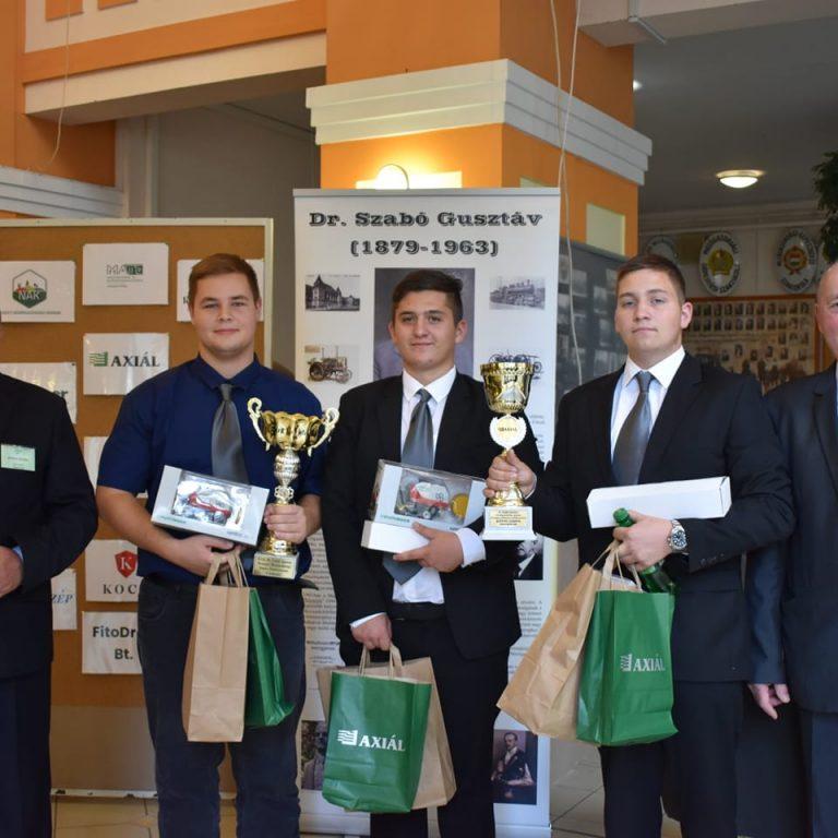 1. helyezés a Dr. Szabó Gusztáv emlékversenyen